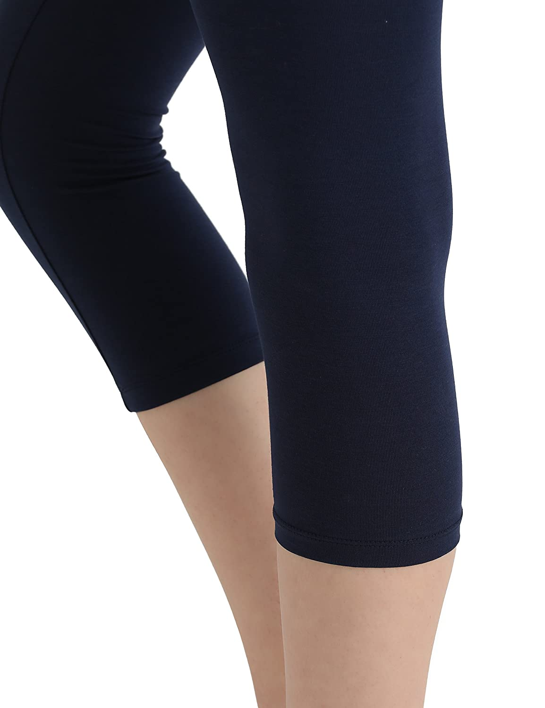 matte Berydale Womens Capri Leggings 100 DEN