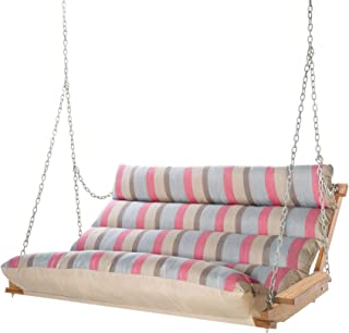 product image for Hatteras Hammocks Deluxe Sunbrella Cushioned Double Swing, Gateway Blush