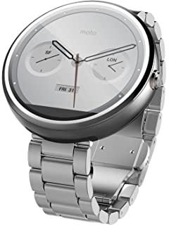 Amazon.com: Motorola 2nd Generation Moto 360 42mm Smartwatch ...