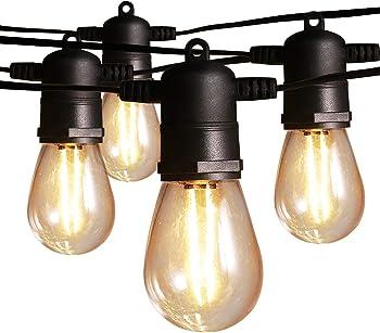 Ltteny 48-Foot Outdoor LED String Lights