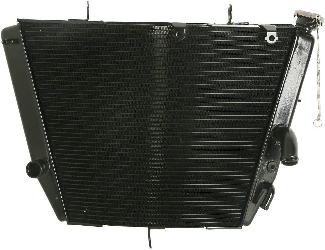 XFMT Motorcycles Aluminum Radiator Cooling Cooler For Suzuki GSX-R GSXR 600 750 2006-2011