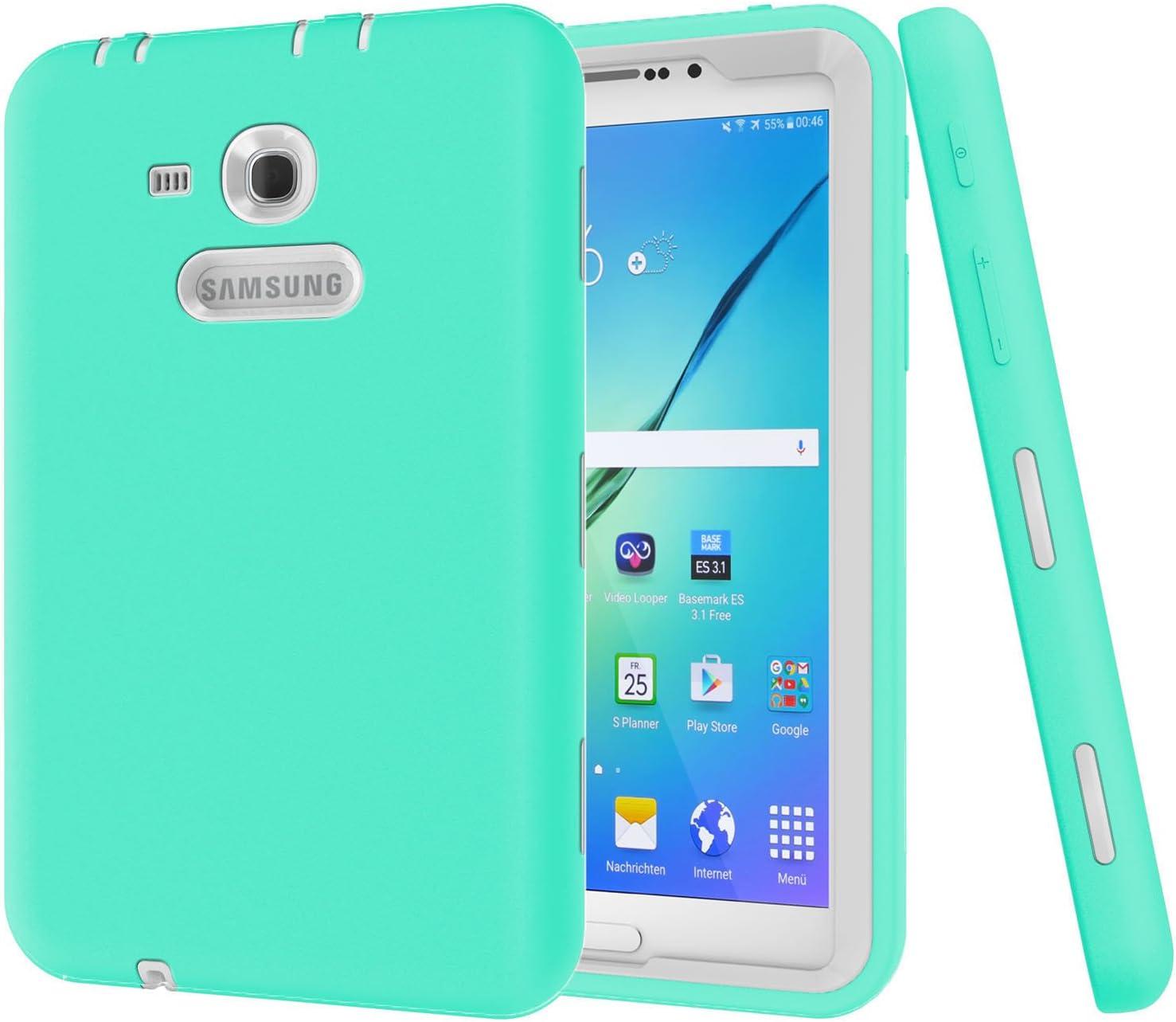 Galaxy Tab 3 Lite 7.0 Case Beimu 3 in 1 Shockproof Heavy Duty Rugged Hybrid Armor Defender Protection Cover for Samsung Galaxy Tab E lite 7.0 SM-T113 /& Tab 3 Lite T110 T111