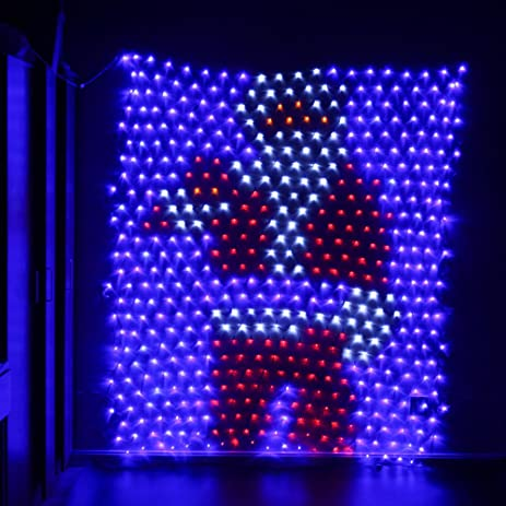 Amazon 49ft65ft santa claus led net lights christmas 49ft65ft santa claus led net lights christmas decorative net lights for festival aloadofball Choice Image