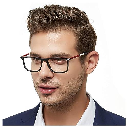 Designer Mens Eyeglasses Frames: Amazon.com