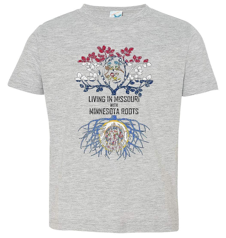 Tenacitee Babys Living in Missouri with Minnesota Roots Shirt