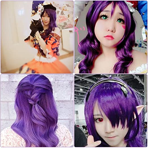 Wear this Versatile Wig for Cosplay, a Party Costume, Fashion, or Just for Fun