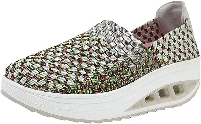 BOBOLover Zapatillas Deporte Mujer Running Zapatos Mujer ...