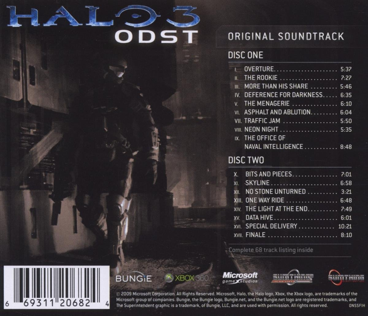 Halo 3 odst original soundtrack amazon music publicscrutiny Image collections