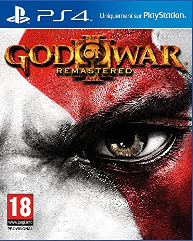 Sony God of War III Remastered PS4 Remastered PlayStation 4 ...