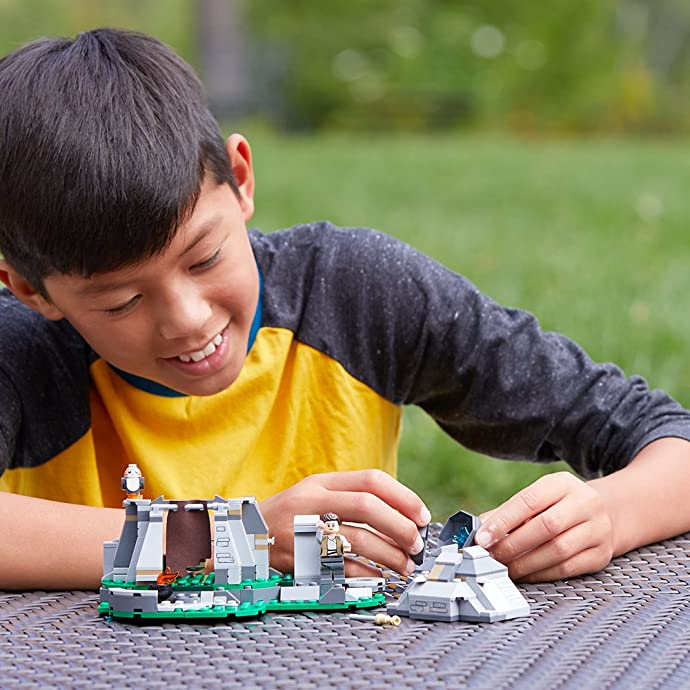 LEGO 乐高 Star Wars 星球大战系列 75200 Ahch-To训练岛 积木玩具 5.7折$17史低 海淘转运到手约¥148