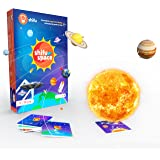 Shifu Space: 4D Educational, Augmented Reality Based Game | 60 Flashcards | Solar System & Outer Space | STEM Toy for Boys & Girls Age 5 to 10 years | Ideal Kids Gift
