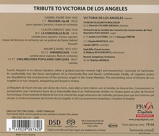 Victoria De Los Angeles à Paris Victoria De Los Angeles