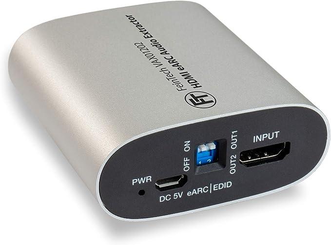 Feintech Vax01202 Hdmi Earc Audio Extractor Für Moderne Elektronik
