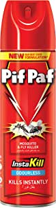 Pif Paf Mosquito and Fly Killer, Odorless, 300ml