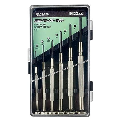 6 piezas Set de destornilladores de precisión, los mini tamaños ...