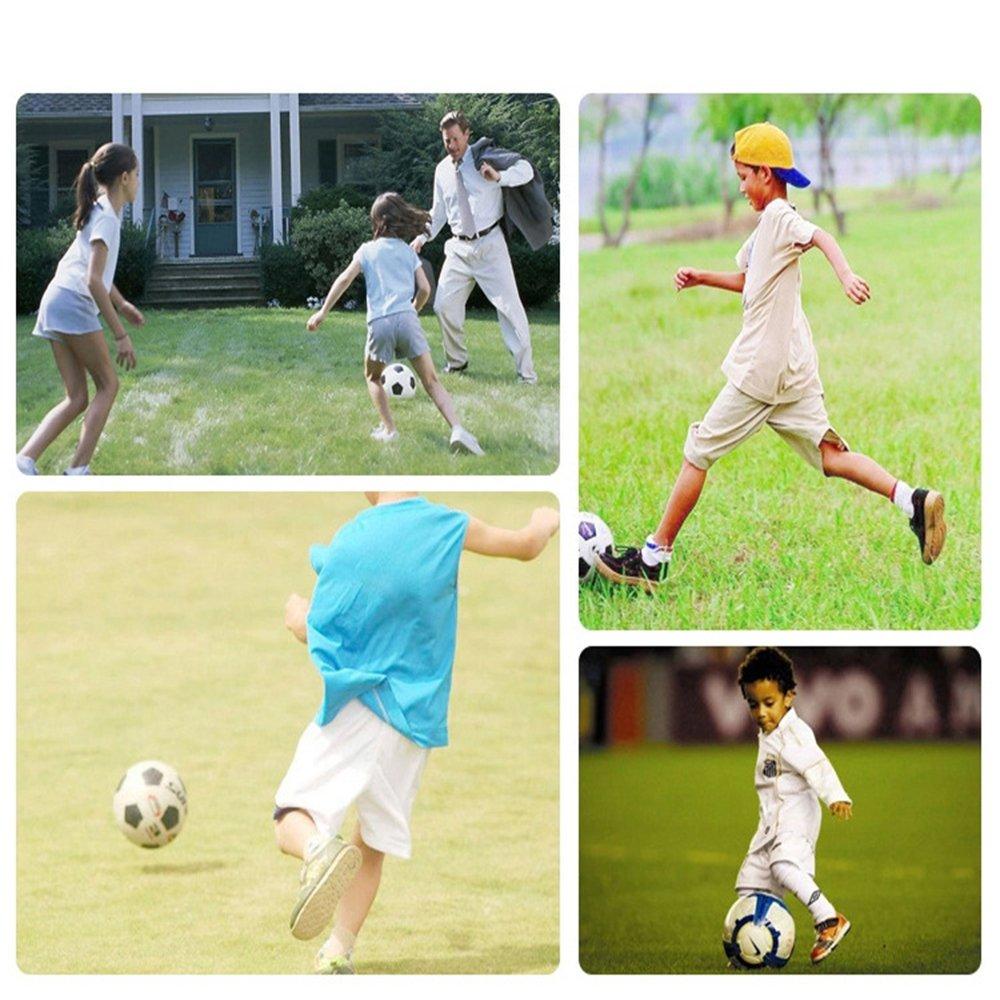 Linyuo Football Entrainement Soccer Cage Football Goal Jouet Support de Football Jouet de Formation D/étachable Portable Sport Set pour Enfants 3