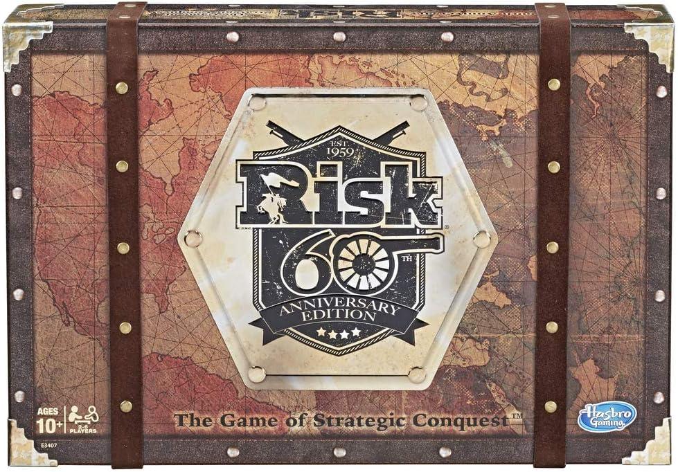 Risk - 60 Aniversario (Hasbro E3407105)