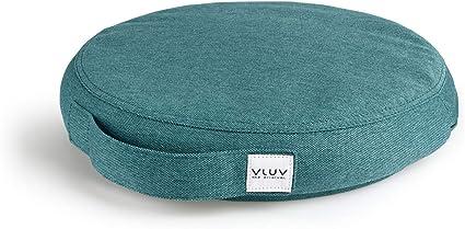 VLUV PED Lines PVC-Balancekissen 36cm in BlackBerry