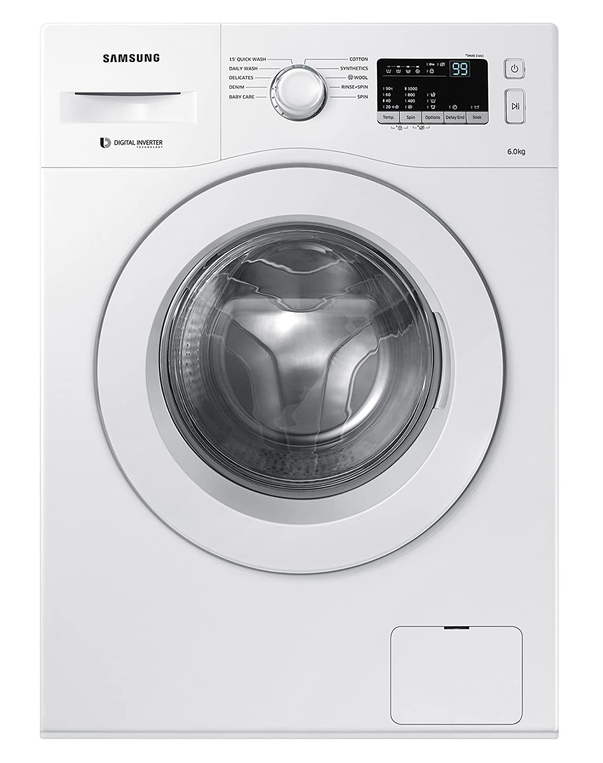 Samsung 6 kg Fully-Automatic Front Loading Washing Machine