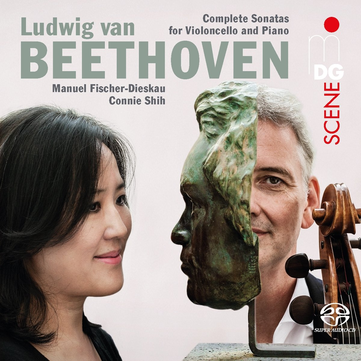 SACD : Manuel Fischer-Dieskau - Connie Shih - Complete Cello Sonatas (Hybrid SACD, 2 Pack, 2PC)