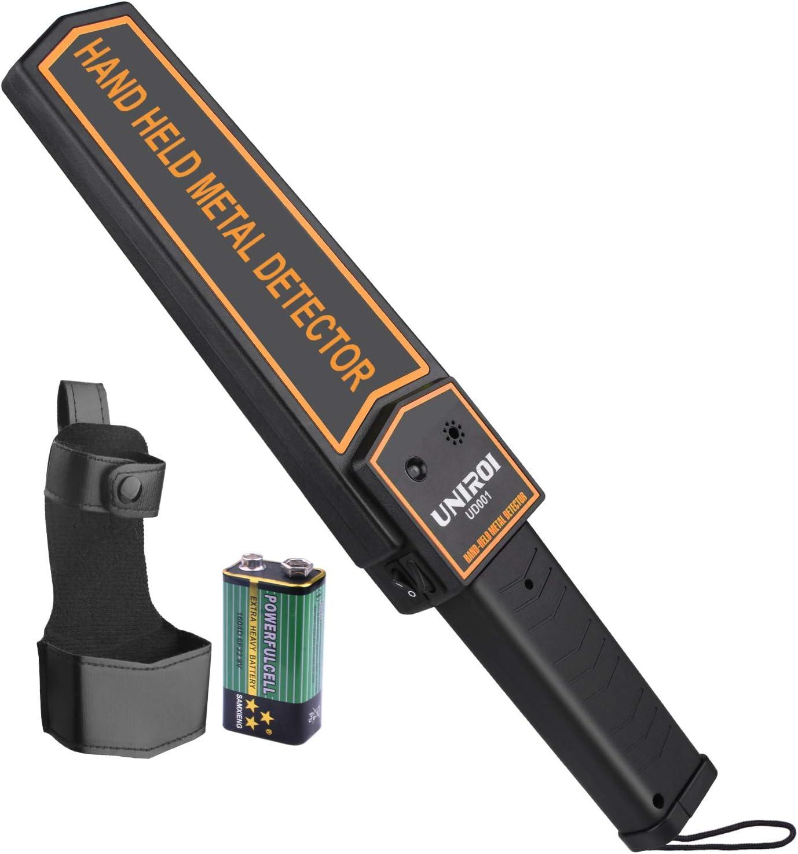 Amazon.com: UNIROI - Escáner de seguridad de varita de metal ...