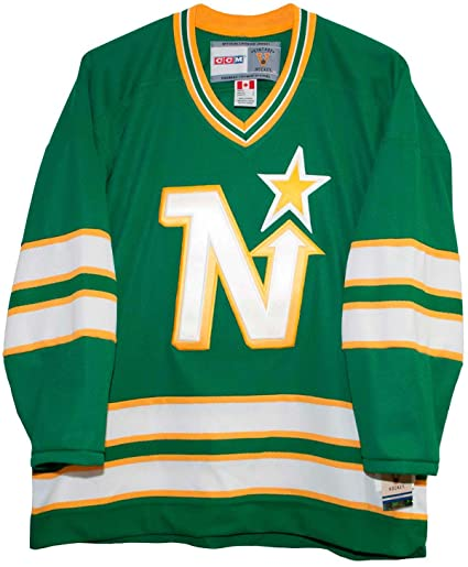 b40fa25c Image Unavailable. Image not available for. Color: Minnesota North Stars Vintage  CCM 1975 Jersey ...