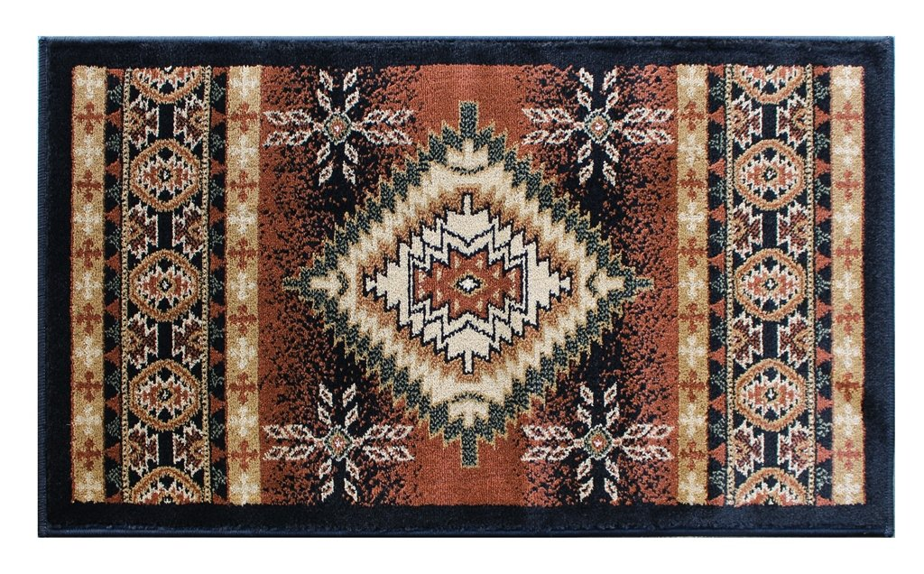 Paco Home Designer Rug Chequered in Marble Visual Effect Flecked Brown Beige Black Sale Size:60x100 cm