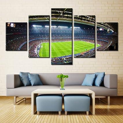 Charming Canvas Art Soccer Football Sports Themed Canvas Wall Art For Boys Room Baby  Nursery Wall Decor
