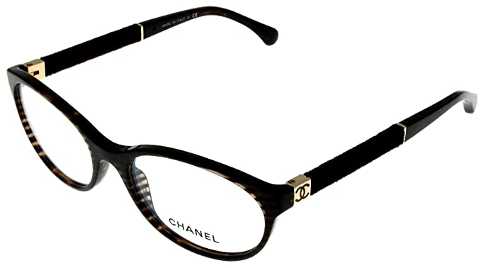 06faa8ef7c69a Image Unavailable. Image not available for. Color  Chanel Prescription  Eyeglasses Frame Brown Women ...