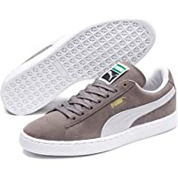 Puma Suede Classic+ Gri Beyaz Erkek Sneaker Ayakkabı