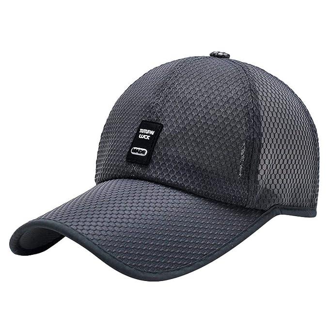 Voqeen Gorra de béisbol de Malla con Logo sin Defectos Sombreros ...