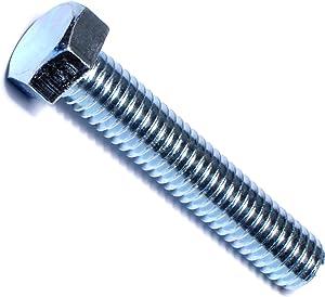 Hard-to-Find Fastener 014973244248 Full Thread Hex Tap Bolts, 3/8-16 x 2, Piece-100