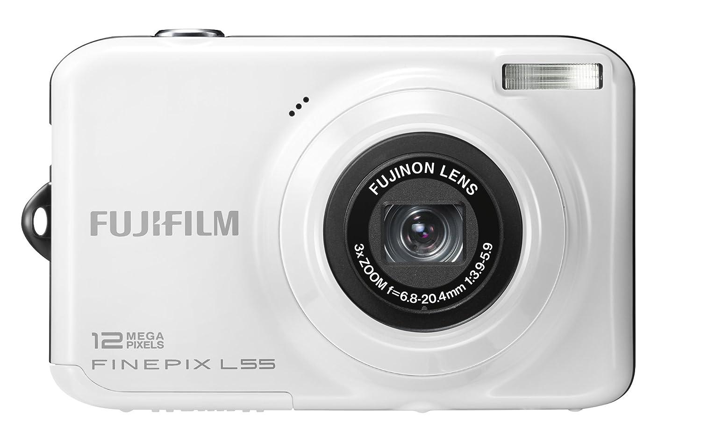 Fujifilm FinePix L55 Digital Camera - White 2.4 inch: Amazon.co.uk: Camera  & Photo