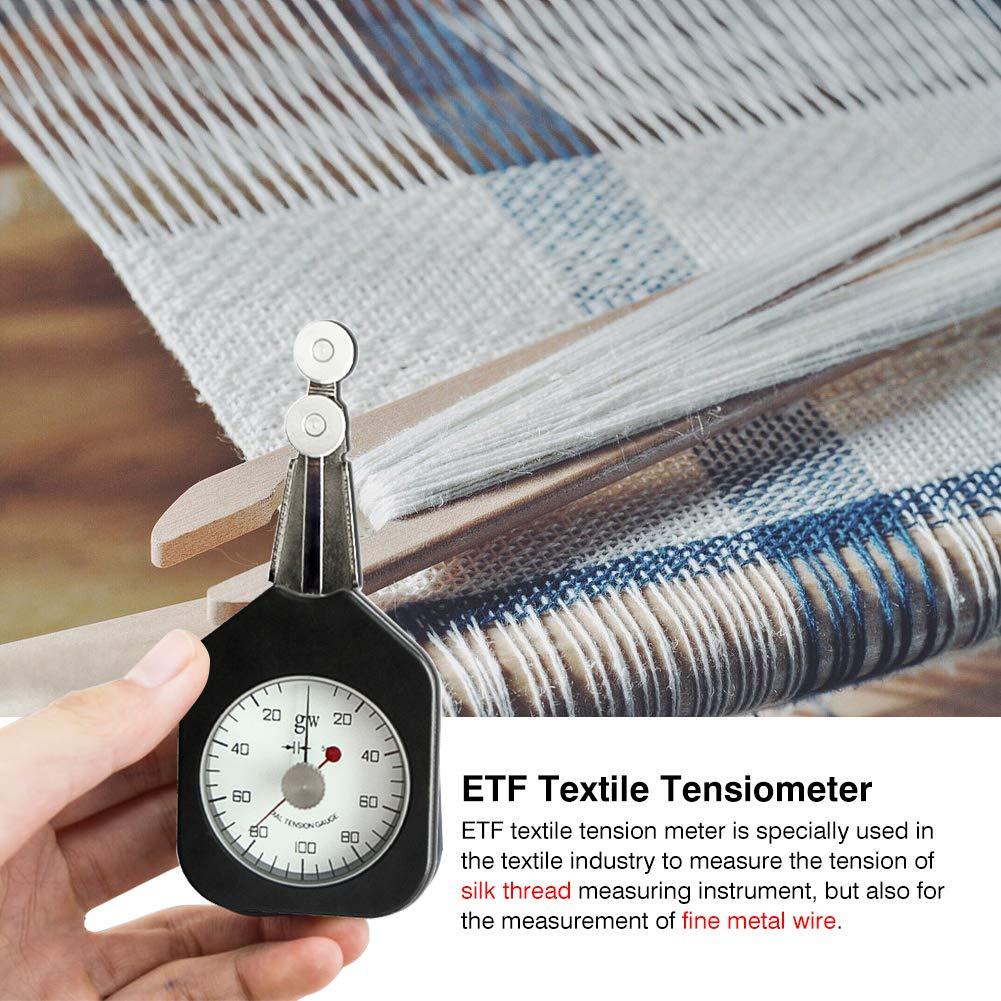 Tensiómetro textil de mano con 2 agujas, medidor de tensión de hilo, medidor de textil, puntero para industria textil, rango 25-2-25: Amazon.es: Bricolaje y ...