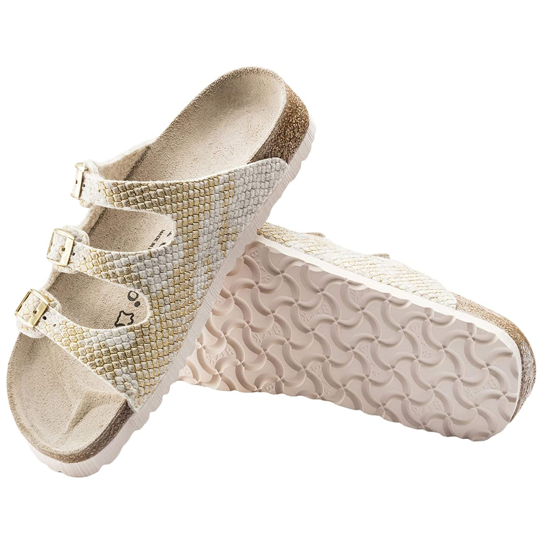Papillio Felt Damen Florida Wool Felt Sandalen Shiny Felt Papillio OffWeiß ed38d1