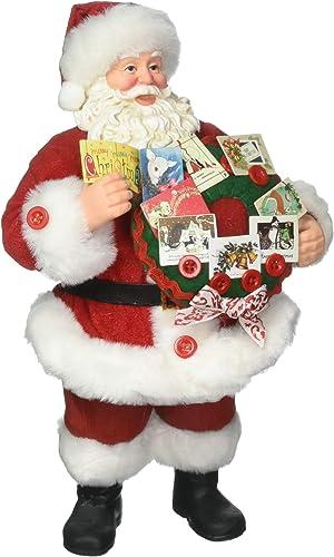 Department 56 Possible Dreams Santa Claus Season s Greetings Clothtique Christmas Figurine