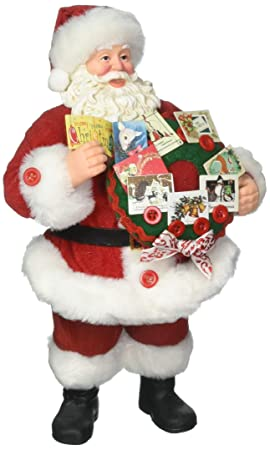 Department 56 Possible Dreams Santa Claus Season s Greetings Clothtique Christmas Figurine