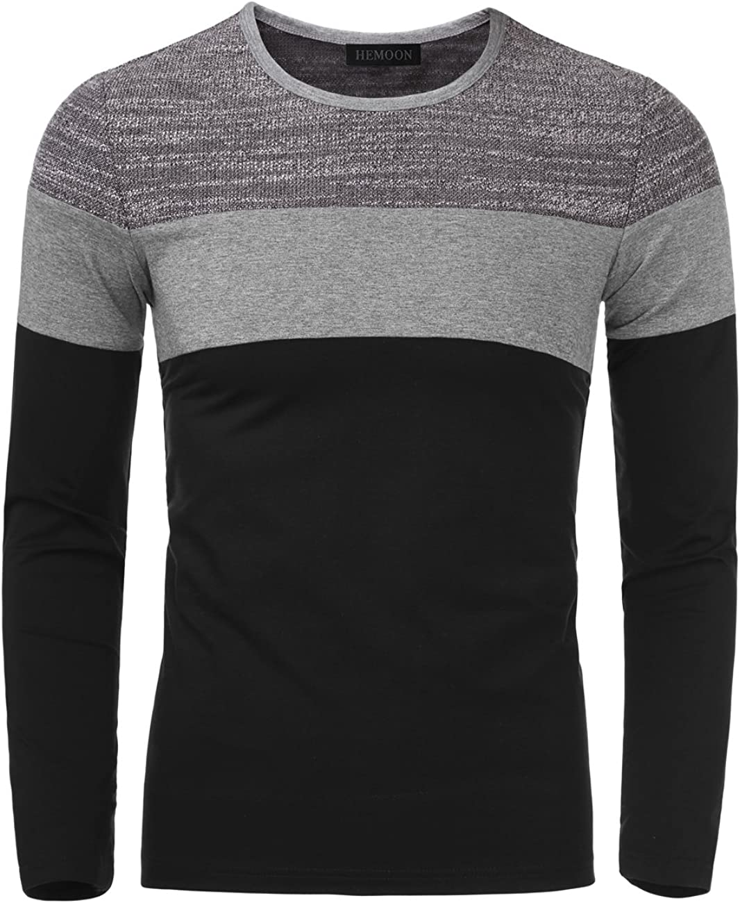 YONGM Men Short Sleeve Slim Fitted Pullover Fashion Pure Color V Collar Tee