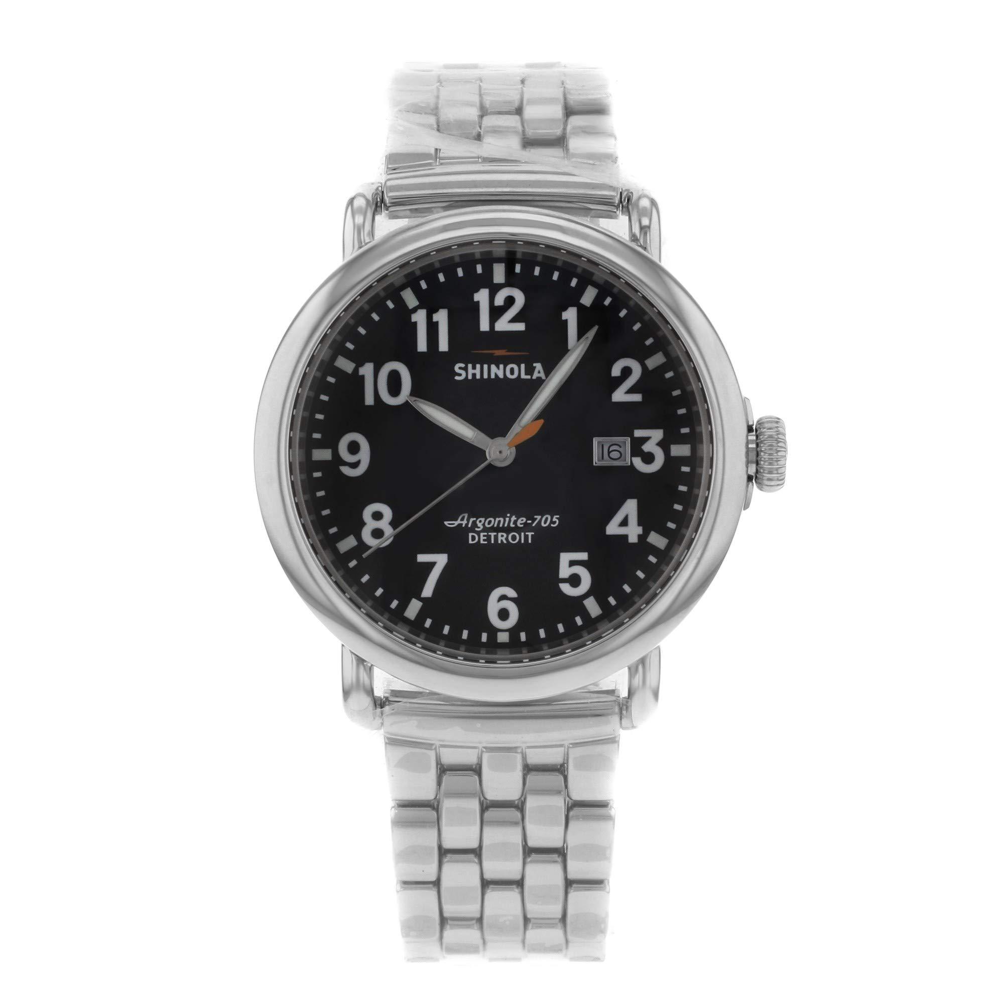 Shinola The Runwell Quartz Male Watch 10000053 (Certified Pre-Owned) by Shinola