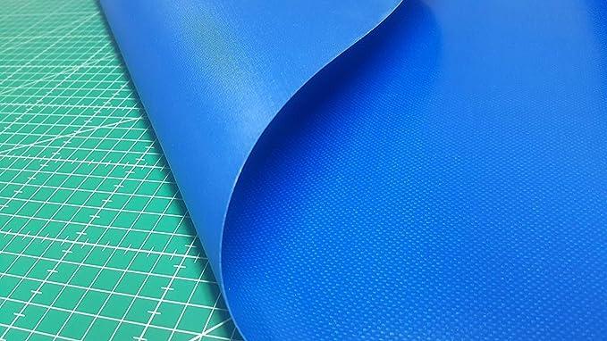 Lona PVC Azul extraresistente Lona de PVC para toldos, colchonetas, cierres, camping, cortinas,etc