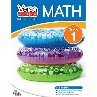 hand2mind VersaTiles Skills Practice Math Activity Book (Grade 1): Industrial & Scientific