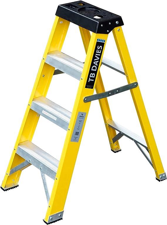 Laddres-Online - Escalera de mano para electricistas (fibra de ...