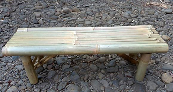 Foldable Bamboo Flat Bench