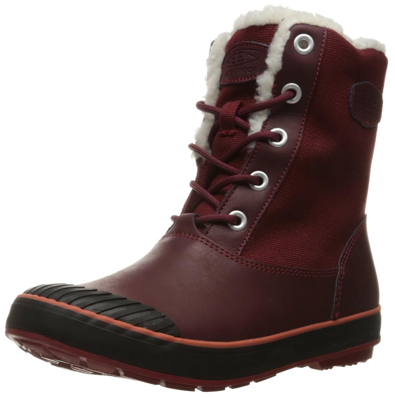 KEEN Women's Elsa Waterproof Winter Boot B019FCDTHY 10.5 B(M) US Zinfandel