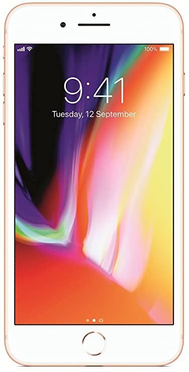 (Refurbished) Apple iPhone 8 Plus MQ8F2HN/A (Gold, 64GB) Smartphones at amazon