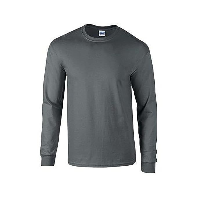 53 opinioni per Gildan Da Uomo Morbida Stile Maniche lunghe T-Shirt
