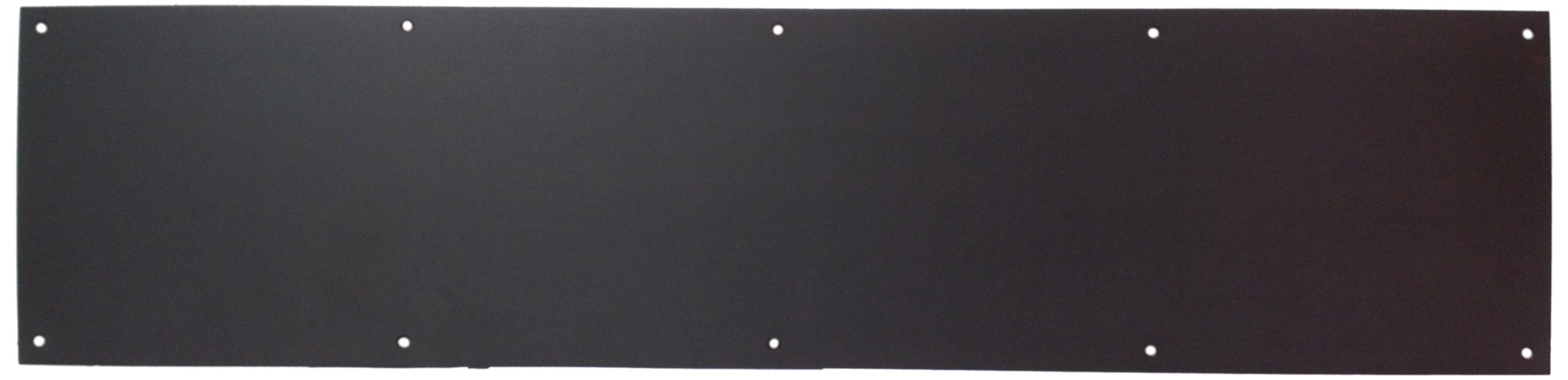 Don-Jo 90 Metal Kick Plate, Oil Rubbed Bronze Finish, 46'' Width x 10'' Height, 3/64'' Thick
