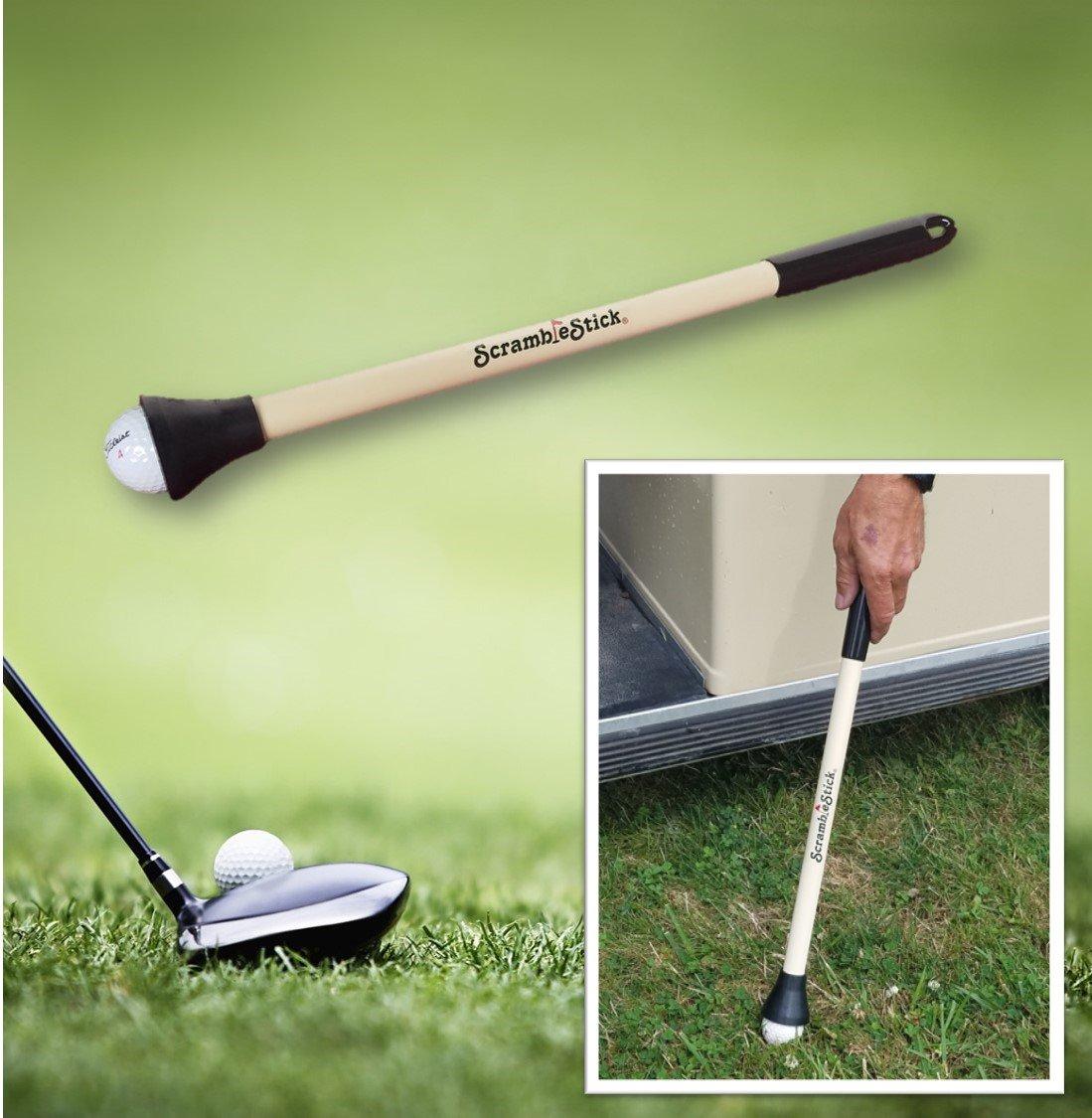 ScrambleStick The Original Golf Ball Retriever, Designed for Scramble Golf, 20-Inch
