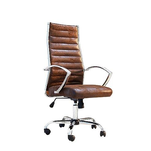 Schreibtischstuhl antik  Design Bürostuhl Chefsessel BIG DEAL antik coffee Stuhl Büro ...