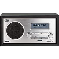 Imperial DABMAN 30 Digitalradio (DAB+/DAB/UKW, Aux In, inkl. Netzteil), Farbe:schwarz